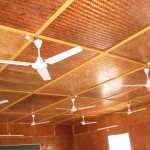 Ceiling-of-Bamboo-Pre-fab-Shelter
